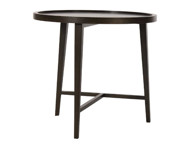vittoria tall round side table