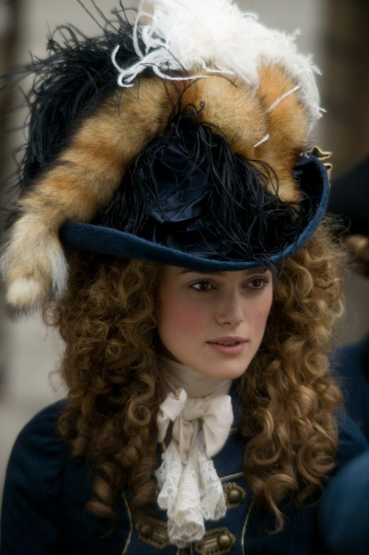 fabulous Hat worn by Keira Knightly in the film The Duchess.