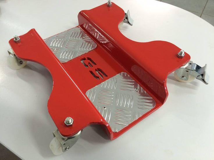 MotoSlider Plataforma Tipo Patins para Motos com cavalete Central