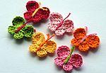 Мобильный LiveInternet Вязаные крючком цветы, аппликации, аксессуары от Annie Design | Kandy_sweet - Дневник Kandy_sweet |