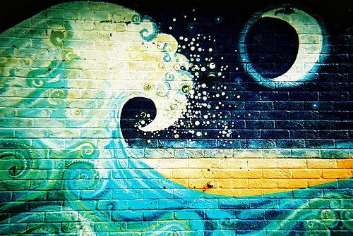 brick mural