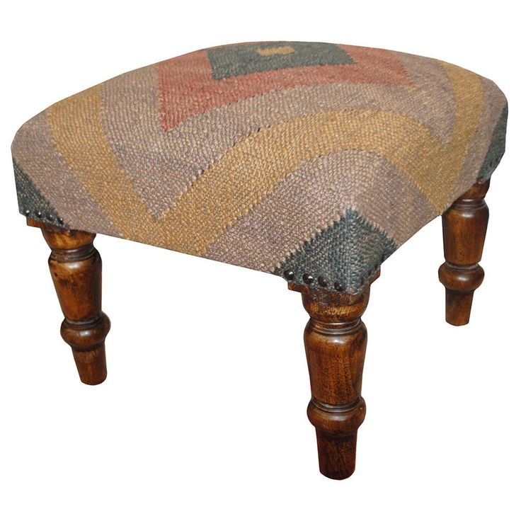 1000 Ideas About Upholstered Footstool On Pinterest