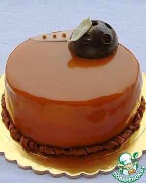 """Торт """"Карамелька"""""""