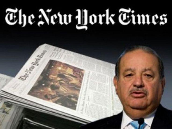 ] NUEVA YORK, NY * 02 de agosto de 2017. Notimex El magnate mexicano Carlos Slim vendió a través de la compañía Inversora Carso una fracción de las acciones que posee en la empresa editora del diario The New York Times, por un valor de 10 millones de dólares. De acuerdo con documentos públicos...