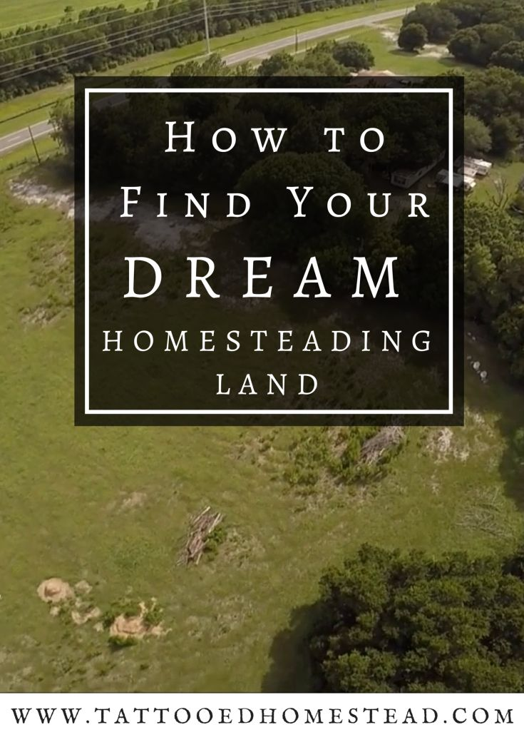 How to Find Your Dream Homesteading Land