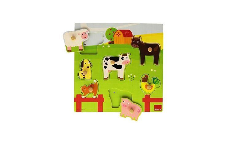 Hangot adó kirakó puzzle - Járművek 2 éves kortól - Goula