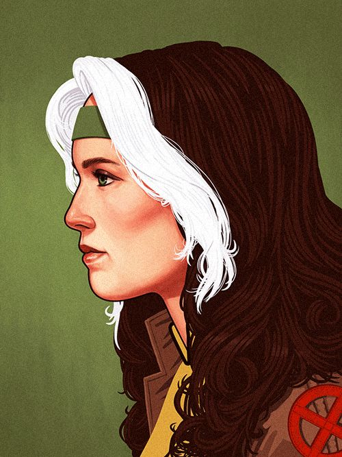 Rogue - Character Design Illustrations by Guy McKinley