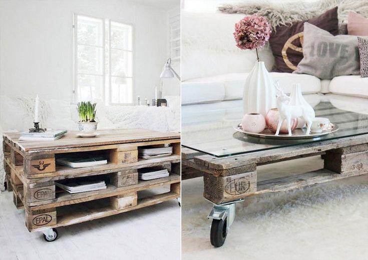 Столик из поддонов и паллет #мебель #паллеты #поддоны