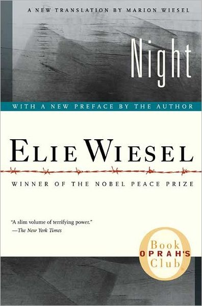 An autobiographical account from a survivor of Nazi death camps. Also an amazing Professor...Book Club, Worth Reading, Book Worth, Holocaust Survivor, Amazing Book, Favorite Book, Elie Wiesel, Life Change, High Schools
