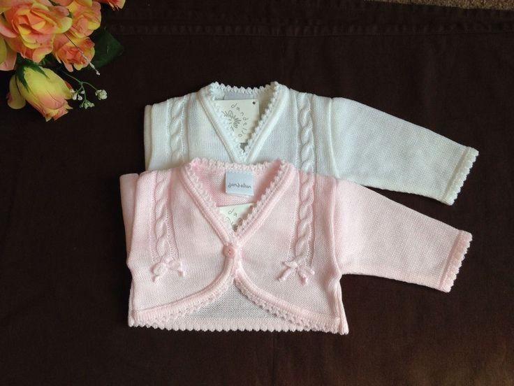 Baby Blumen Mädchen Brautjungfer Weiß Pink Bolero Jacke Schulterjäckchen
