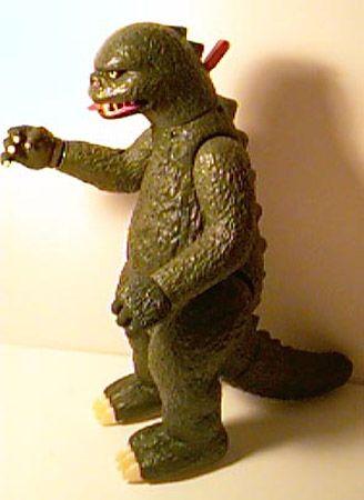 godzilla 1980 toy with shooting hand...Haha, I loved him ...