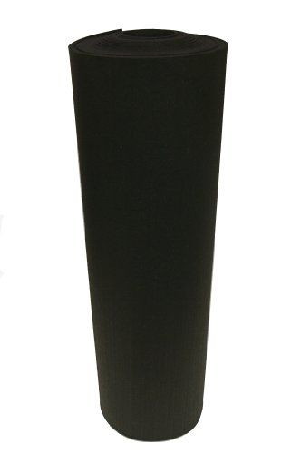 "Rubber-Cal Recycled Rubber Flooring - 1/4"" x 4ft rolls - Black Rubber Mats: Rubber Mats, Black Rubber, Recycled Rubber, Recycled Floor, 4Ft Rolls, Mats Fitness, Rubber Cal Recycled, Floor Mats"