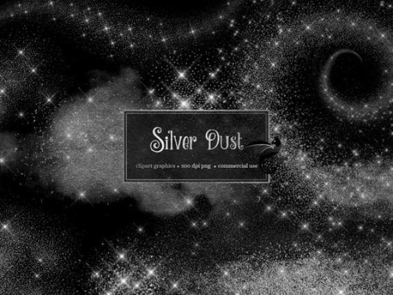 Silver Dust Clipart Silver Glitter Clip Art Pixie Dust Fairy Dust Glitter Sparkle Png Silver Sparkling Dust Overlays Star Downloa Clip Art Sparkle Png Overlays