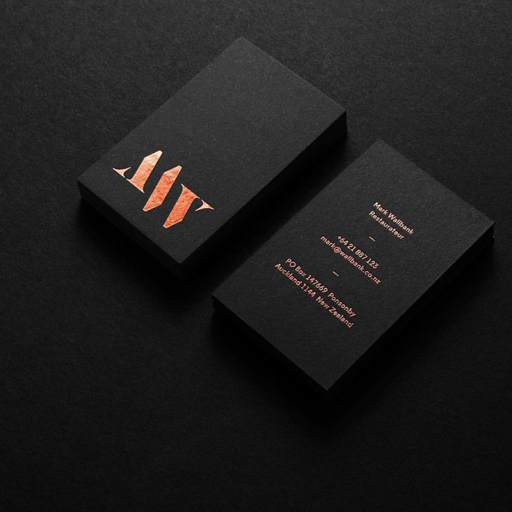 Visualgraphc auf Instagram Business card design by