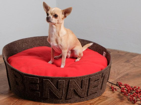 Pet gift Dog gift Designer dog bed Modern cat bed by NapsDesign He is my Valentine! #dog bed by @napsdesign www.napsdesign.etsy.com #etsy #etsysuccess #etsyfinds