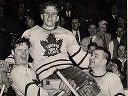 Billy Barilko Toronto Maple Leafs
