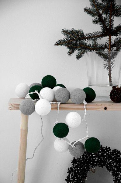 """""""Bride"""" cotton balls lights w Qule - cotton balls na DaWanda.com"""