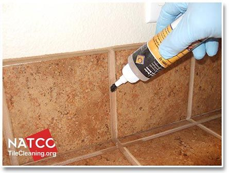 Properly Sealing Grout Will Keep It From Becoming Dirty And Stained