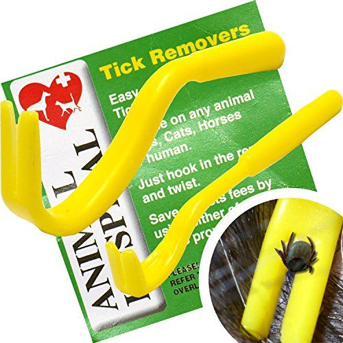 Tick Remover set BY Animal Hospital, Pack of 2 (one big,one small) the Best Most Effective Tick Removers on the Market,Remove Ticks from Dogs,Human,Horse or any other Animal,Safe Tick Removal Hooks - http://www.petsupplyliquidators.com/tick-remover-set-by-animal-hospital-pack-of-2-one-bigone-small-the-best-most-effective-tick-removers-on-the-marketremove-ticks-from-dogshumanhorse-or-any-other-animalsafe-tick-removal-hooks/