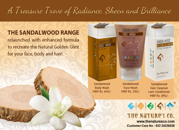 #Sandalwood known since age old for being a treasure of radiance giving a golden glint to your hair, body and face. NOW relaunched with enhanced formula.   Click here for more details: http://bit.ly/1TIv6XR  #Relaunch #Better #Golden #Pure #Woody #Heavenly #GodsFav #WeddingRituals