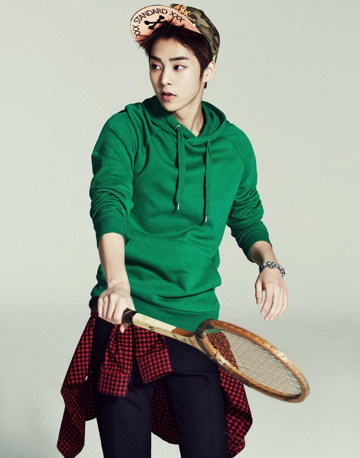 exo   : :  2014 calender xiumin cut  #exo #12 #kpop #smboys #kpopmap #xiumin #minsuk #exom