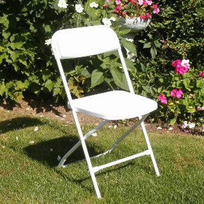 17 Best Images About White Samsonite Folding Chairs On