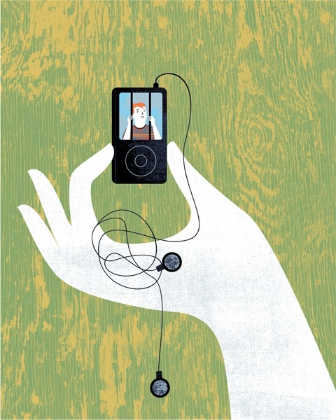 trapped in ipod