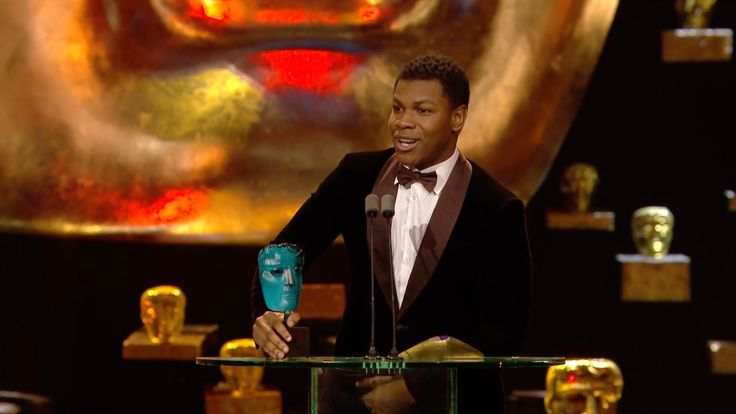 London boy John Boyega aged 23 becomes the #Bafta Rising Star. He truly inspires young people & shows you can achieve your dreams. #inspiration #dreams #believe #starwars #johnboyega
