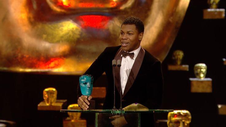 John Boyega wins Rising Star award - The British Academy Film Awards 201...