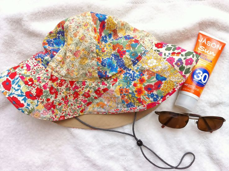 Liberty Fabric Scrap Sun Hat - Mad For Fabric