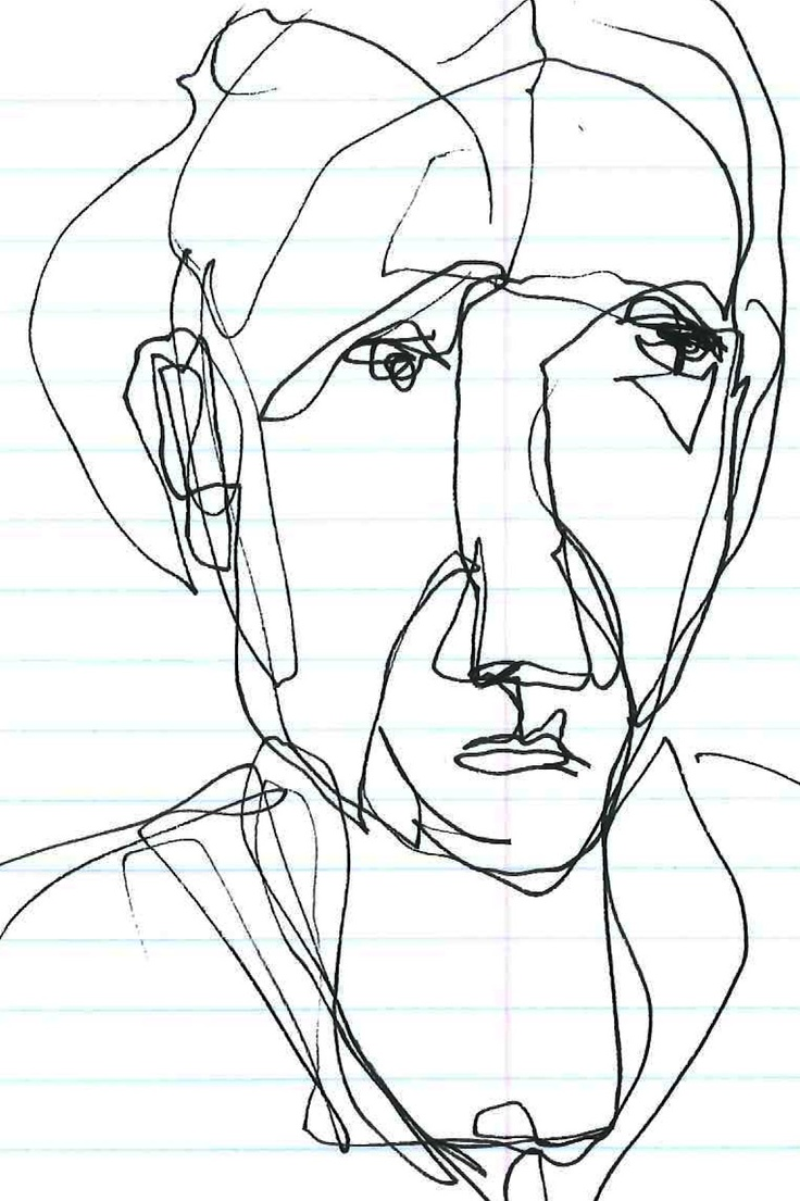 Contour Line Drawing Picasso : The best images about line drawings on pinterest