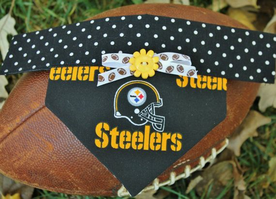 Pitsburg Steeler Scarfs for Pets