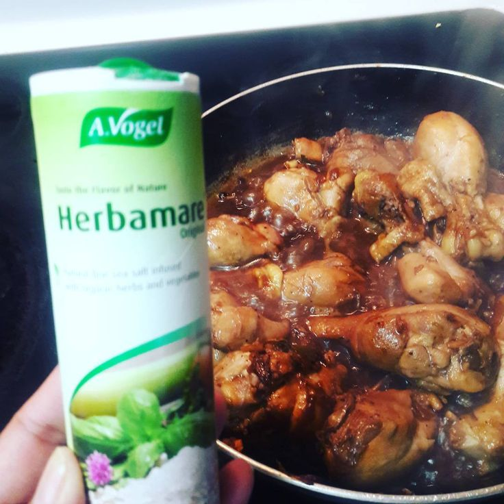 Spicing up my adobo 😊👌  #herbamare #gotitfree #socialnature