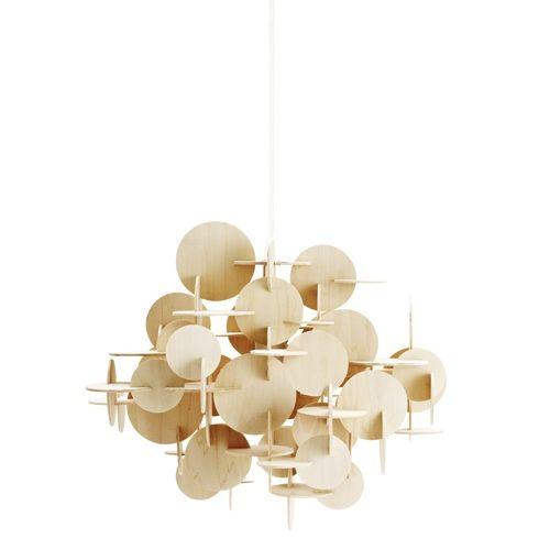 Designdelicatessen normann bau pendel lampe stor