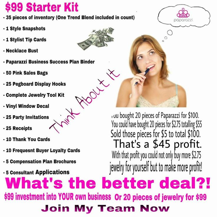 Own Your Own Business! Join Paparazzi Accessories