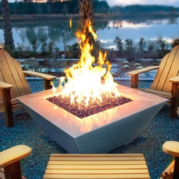 Starfire Designs 48 Square Mill Fire Pit Outdoor Fire Backyard Fire Fire Pit