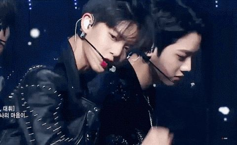 [enter-talk] WANNA ONE'S COMEBACK STAGE VISUALS (BAE JINYOUNG + HA SUNGWOON)