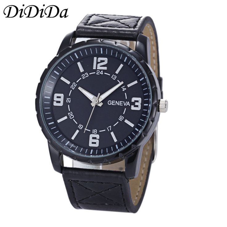 >> Click to Buy << 1PC Geneva Men Quartz Wristwatches Luxury Busines Wrist Watch Analog Analog Sport Free Shipping wholesale relogio masculino J20 #Affiliate