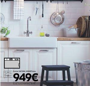 IKEA : cuisine STAT et évier à encastrer 1 ou 2 bacs DOMSJÖ - Maman déménage à Lille, blog mode , déco, cuisine...