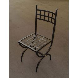 Chair Wrought Iron. Customize Realizations. 445