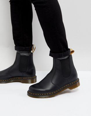 Vegan Boots Stivali Di Moda Scarponi Da Uomo Stivaletti Chelsea