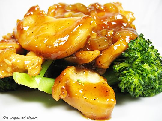 Sweet Soy Glazed Chicken and Onions