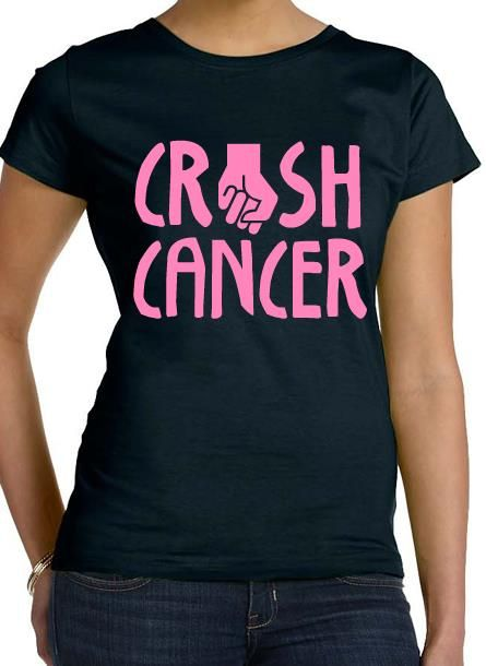 Crush Breast Cancer t-shirt design idea and template. Customize ...