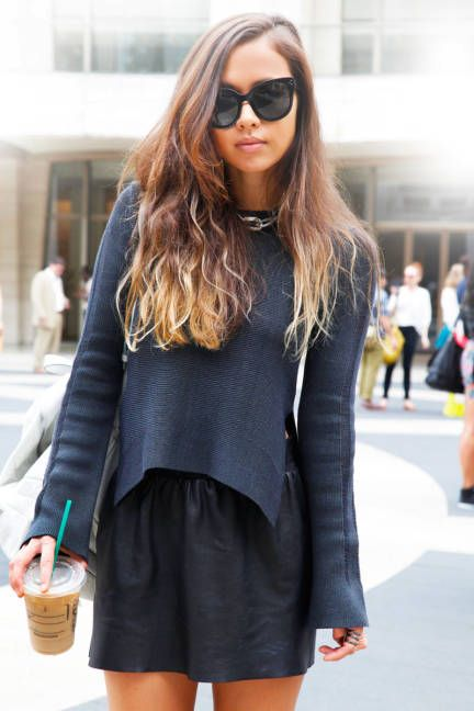 Black on Black + Ombre Hair