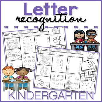 This NO PREP Letter Recognition worksheet packet is great for early finishers, assessing taught skills, morning work, and homework. These worksheets are fun and engaging, as well as stimulating as they feature TEN different activities.This Letter Recognition worksheet packet includes: 26 x Letter Recognition Activity Worksheets (1 x for each letter)Each worksheet features TEN different activities, these include: - Sign it (practice / learn sign language)- Dab it (dab the braille dots) $3.00