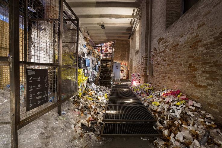 Let's talk about garbage  #Biennale #Arsenale #Venice #Architecture