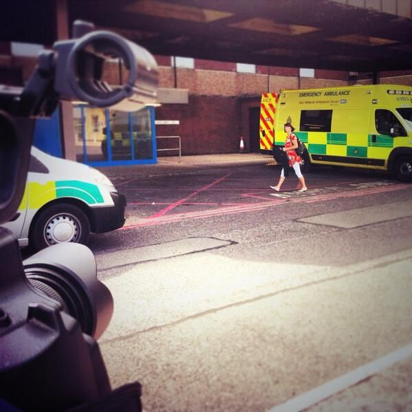 Capturing the coming and going of ambulances