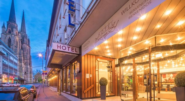 Marburger Hof Marburg an der Lahn Located in central Marburg, this privately-run hotel is an ideal base for exploring the vibrant university town of Marburg. It offers warmly decorated rooms and comes with free Wi-Fi.