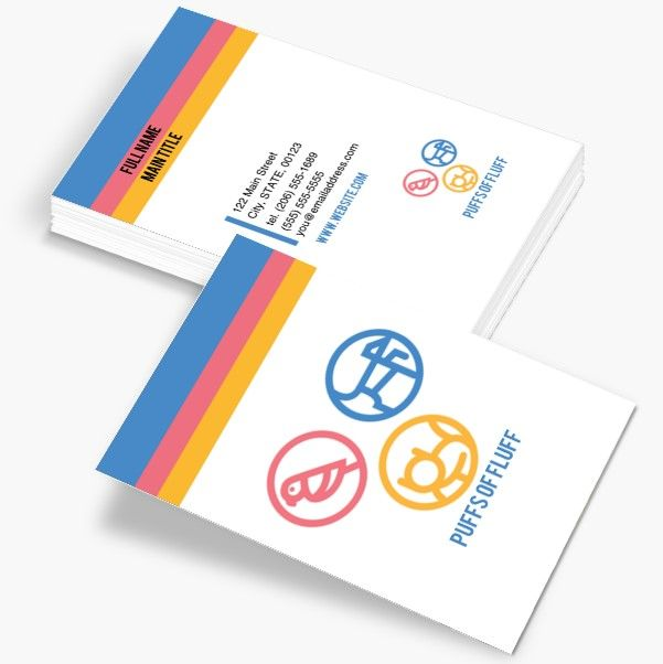 Standard Business Cards Business Cards Staples Printing Business Cards Custom Business Cards Cards