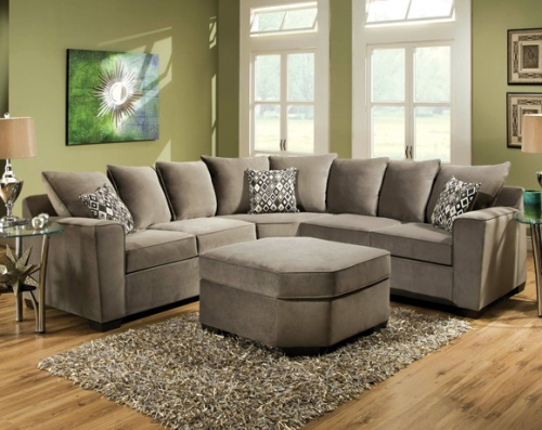 Our Roxanne Gunsmoke sectional is on sale for $698 and is